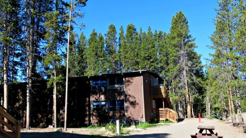 Canyon Village Employee Dorm USA Yellowstone National Park