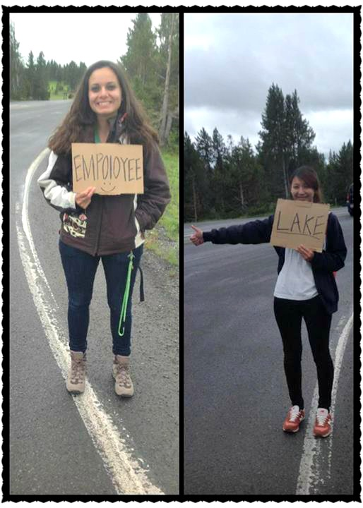 autostop a Yellowstone