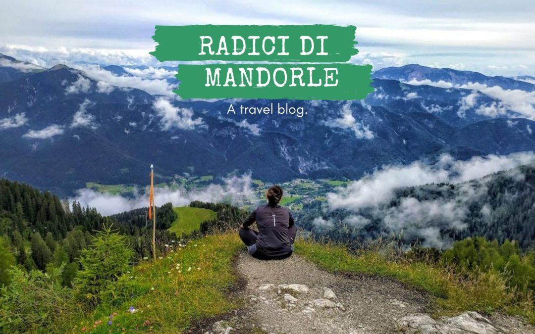 Apre il blog di viaggi Radici di mandorle