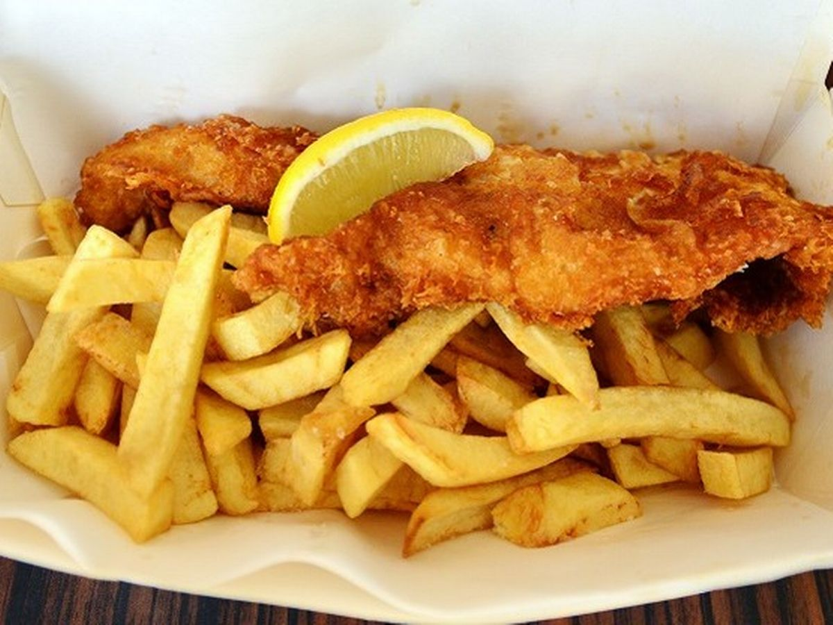 FISH AND CHIPS IRLANDESE 3 RADICI DI MANDORLE