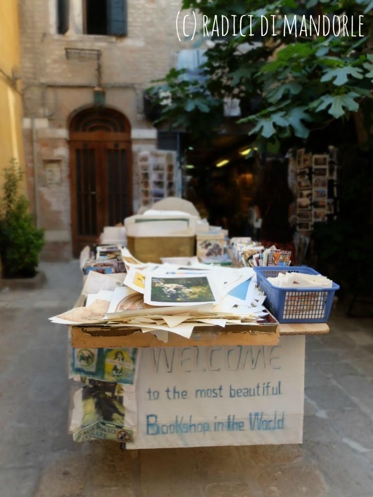 Libreria Acqua Alta Bookstore Venice
