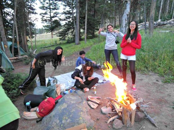 Work and Travel Yellowstone National Park Radici di mandorle